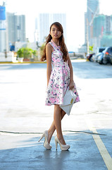 Trice Nagusara La Petite 1 (Trice Nagusara) Tags: pink white floral fashion beige dress formal style blogger styles petite semiformal petites lapetite floralprints dorothyperkins smartcasual smaccessories fashionblogger nudeheels tricenagusara