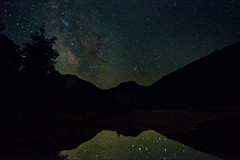 Midnight Marcy Dam (HckySo) Tags: night way high nikon dam marcy peaks nikkor milky starts adirondack d90 1755mm