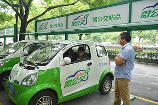 电动车市场遇冷 中国加快充电站建设