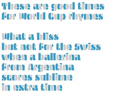 World Cup Poetry (Underware Type Foundry) Tags: stencil tripper tricolor font