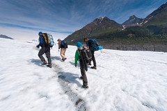 Glacier hike in Wrangell-St. Elias (AlaskaNPS) Tags: mountains hiking glaciers