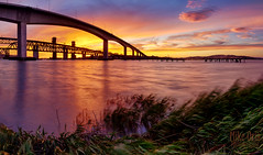 Benicia Sunset (mikeSF_) Tags: california county bridge sunset costa mike night sunrise photography long exposure wind pentax amtrak rodeo benicia vallejo solano martinez contra f4 oria mothball 645d pentax645d mikeoria dfa25