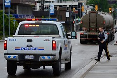 Accident Scene (Vegan Butterfly) Tags: trip bc crash accident police columbia vehicles british vernon