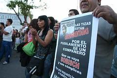 2007-04-07 - Asesinato de Carlos Fuentealba - Foto de Oscar Livera