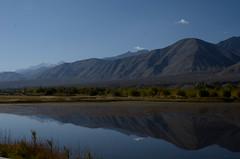 The Lake (shazell212) Tags: blue india mountain lake mountains water mirror nikon asia valley himalaya ontheroad hilltop ladakh thiksey southasia jammukashmir jammuandkashmir d7000 nikond7000
