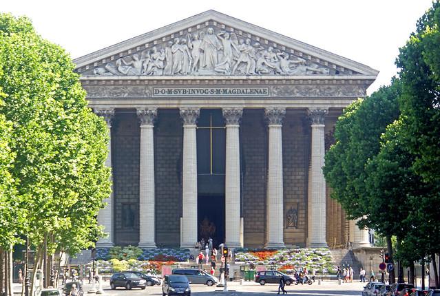 paris france church greek sony columns free dennis jarvis lafrance globus iamcanadian eglisedelamadeleine freepicture dennisjarvis archer10 dennisgjarvis nex7 18200diiiivc lafrancera