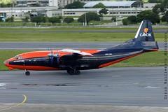 UR-CKL Cavok Airlines Antonov An-12BK (Diegonvs) Tags: plane fly taxi aircraft aviation air jet aeroporto fir recife avião aviao aviação nordeste rec aviacao guararapes sbrf sbre