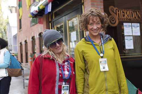 Mountainfilm Theater Volunteers