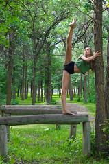 Ilyssa (ZoyaKostetsky) Tags: beauty forest dance dancing legs dancer balance strength flexible leghold portraitlense