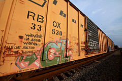 (o texano) Tags: bench graffiti texas houston trains next msk dts d30 cl freights nekst a2m benching