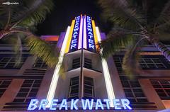 Art Deco - Miami 2013 (naldomundim) Tags: road old art beach canon vintage hotel neon florida miami south wide mia 5d fl decor 16mm ultra breakwater sobe naldo lincon mark2 mundim naldomundim naldim
