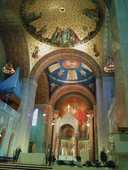 The Basilica of the National Shrine of the Immaculate Conception - interior (d1pinklady) Tags: city usa tourism washingtondc us dc washington shrine metro capital cityscapes tourist wdc views visitors monuments conception immaculate