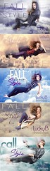 COMBO (Katelin Kinney) Tags: sky fall fashion clouds flying model wind levitation style falling fantasy editorial antm