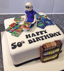 Comic Collector Cake