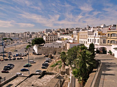 Tangier, Morocco (Wendy_Armstro) Tags: street travel streets architecture landscape arabic morocco maroc marocco marruecos tangier marokko mosques