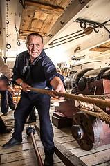 003 Alabama Crew HMS Warrior (One Eye Coombs) Tags: ship alabama crew cannon portsmouth sailor hmswarrior