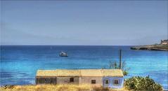 Colori d'estate (Laralucy) Tags: mare barche case hdr sicilia magicunicornverybest magicunicornmasterpiece