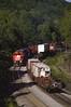 CP 4715 West Richmondville meet (callduckfarm) Tags: railroad train dh cp cprail freighttrain alco mlw delawarehudson newyorkrailroads montreallocomotiveworks alcolocomotive candianpacific m636 mlwm636 cp4715 richmondvillehill westrichmondvilleny