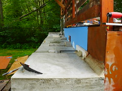 FlatFace Concrete Fingerboard Park 2014 (FlatFaceFingerBoards) Tags: park art mike face stone john concrete flat tech mason towers cement deck fingerboard schneider flatface