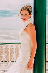 Linda & Fred Wedding (Caballerophotos) Tags: uk portrait bride brighton boda linda weeding novia brightonbandstand lindafred