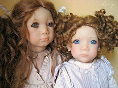 Esme & Irmi (Tartadefresa) Tags: doll kinder 1997 annette esme puppen muñeca irmi annettehimstedt