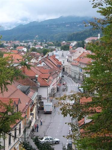 Kamnik rooftops