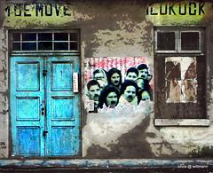 Fachada multifacetada (silwittmann) Tags: door blue brazil building sc window azul brasil facade puerta geometry porta janela fachada blumenau fassade facciata silwittmann dacyed