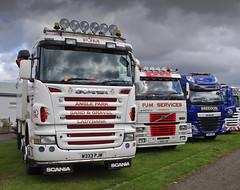 PJM Services of  Ladybank /Breedon Aggregates Scania W333PJM (andyflyer) Tags: truck lorry haulage truckfest hgv ladybank anglepark truckfestscotland breedonaggregates w333pjm pjmservices truckfestscotland2014