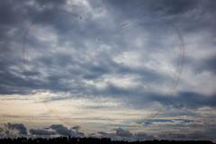 Frecce Tricolori I Aermacchi MB-339 (- JWM -) Tags: italy netherlands finland casa airport hawk hurricane poland airshow f16 airbus hornet boeing f18 oulu texan freccetricolori danishairforce britishairforce f16demoteam tourdesky