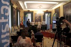 Presentación clinics de vela de Movistar en Asturias