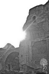 Voyage dans le temps - Thermes de Caracalla (Crixos photography) Tags: sculpture rome temple photography antique ruine empire romain mosaique caracalla thermes crixos