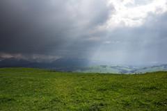 Białka Tatrzańska (ex Deo) Tags: light sky storm mountains nature dark landscape spiritual sunrays sunbeams eternal