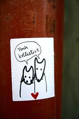 streetartbergen917 (motveggen) Tags: streetart pasteup wheatpaste bergen dyr kjærlighet gatekunst streetartbergen lessaboteuses motveggen