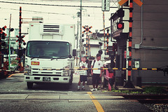 Kyoto + Tobakaido station | Japan, July 2014 (Sebastien BERTRAND) Tags: japan canon kyoto streetphotography streetphoto japon photoderue  eos40d canon40d fotomato sebfotomato sbastienbertrand sebastienbertrand  tobakaidostation