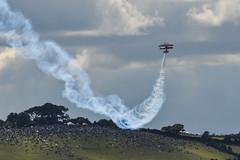 G-EWIZ - Muscle Bi-Plane - Dawlish Airshow 2014 (pgosling1979) Tags: muscle airshow biplane 2014 dawlish gewiz