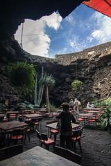 Jameos del Agua - Bar in a Lava tube, Lanzarote, Canary Islands (pas le matin) Tags: island islands lanzarote canaryislands isla islas les islascanarias jameosdelagua le