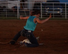 Welch Jr Rodeo, August 2014 (Garagewerks) Tags: horse male girl sport race all child sony barrel sigma august jr rope rodeo cans cowgirl f28 welch 70200mm roping 2014 barrelracing views50 views100 slta77v