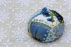 2014.08.28CQJP2014JunePC09 (ivoryblushroses) Tags: crazy embroidery cd cq embellishment quilting stitching pincushion morningglory crazyquilting seams cqjp2014