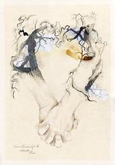 Harmonie (heiko ELIAS friedrich) Tags: collage natur pflanzen elias grafik heiko friedrich zeichnung realismus wachsen organisch gegenstndlich