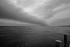 Dark Skies Over Fire Island (nydavid1234) Tags: sky storm water clouds landscape island fire nikon waterscape d600 nydavid1234