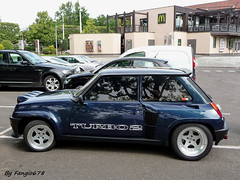 Renault 5 Turbo 2 (fangio678) Tags: 2 classic cars french francaise 5 voiture renault collection strasbourg turbo alpine 01 coche oldtimer 06 ancienne 2014 youngtimer voituresanciennes meinau retrorencard