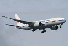 AIR CHINA CARGO, BOEING 777 (777-200), B-2098, at JFK, New York, USA. Sept 2014 (Tom Turner - NYC) Tags: nyc usa newyork plane airplane fly airport unitedstates aircraft aviation transport flight jet twin gear spot cargo jfk queens international final engines transportation boeing approach airlines 777 bigapple kennedy spotting airliner jetplane johnfkennedy bayswater portauthority jamaicabay boeing777 airchina tomturner 777200 airchinacargo b2098