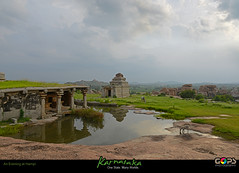 PEACE...UNLIMITED ! (GOPAN G. NAIR [ GOPS Photography ]) Tags: india history tourism photography peace empire karnataka hampi gops gopan vijayanagara gopsorg gopangnair gopsphotography