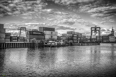 Dortmunder Hafen (SN-Designs) Tags: white black port photography harbor fotograf fotografie photographer hafen dortmund hdr ennigerloh ndesigns saschaniklas