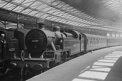 FOWLER 4P 2-6-4 @ EUSTON (Xdriver2) Tags: london train scottish british local railways euston midland fowler lms 264t 42350