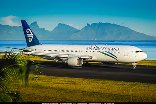 [PPT.2008] #Air.New.Zealand #NZ #B763 #ZK-NCJ #Moorea