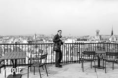 la terrasse du Collge De France (nicotepo) Tags: paris france college de johnpaul lepers voxpop