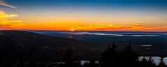 Acadia- Sunset (Pierre H Marchand) Tags: sunset sky mountain canon maine 1740mm mountdesertisland acadianationalpark canoneos1dsmarkii ottercreekmaine