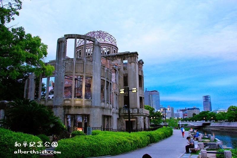 和平紀念公園&原爆圓頂.廣島景點(歷史的軌跡轉化為歷史建築讓後人思考)