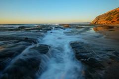 Channel Cascade (Paul Hollins) Tags: longexposure newcastle australia newsouthwales aus waterflow barbeach paulhollins nikond610